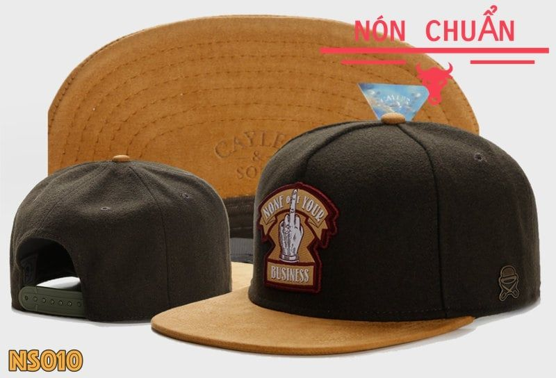 Nón Snapback None Your Business