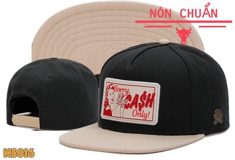 Nón Snapback Sorry Cash Only